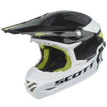 Motocross Helmet Scott 350 Pro Race - Black-Green