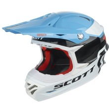 Motocross Helmet Scott 350 Pro Race - Blue-Orange