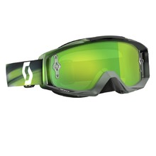 Moto Glasses SCOTT Tyrant MXVI - Speed Grey-Green-Green Chrome