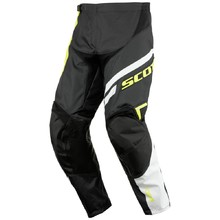 Motocross Pants Scott 350 Track - Black-Green