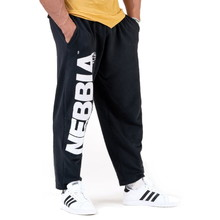 Men's Sweatpants Nebbia Beast Mode On 186 - Black