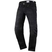 Women's Moto Pants SCOTT W's Denim Stretch MXVII - Black