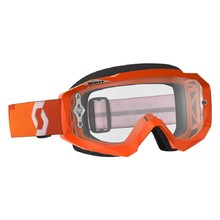 Motorcycle Goggles SCOTT Hustle MXVII Clear - Orange