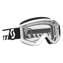 Motocross Goggles SCOTT Recoil Xi MXVII Clear - White