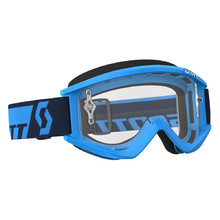 Motocross Goggles SCOTT Recoil Xi MXVII Clear - Blue