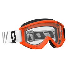 Motocross Goggles SCOTT Recoil Xi MXVII Clear - Orange-Black