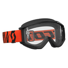 Motocross Goggles SCOTT Recoil Xi MXVII Clear - Black-Fluorescent Orange