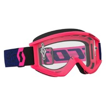 Motocross Goggles SCOTT Recoil Xi MXVII Clear - Blue-Fluorescent Pink