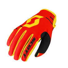 Motorcycle/Cycling Gloves SCOTT 350 Dirt MXVII - Black-Yellow