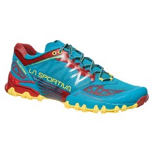 Men's Running Shoes La Sportiva Bushido - Tropical Blue/Cardinal Red