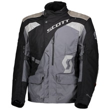 Motorcycle Jacket SCOTT Dualraid Dryo - Black/Iron Grey