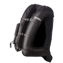 Airbag Vest Helite Turtle 1 Black Extra Wide - Black