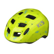 Children's Cycling Helmet Kellys Zigzag - Lime