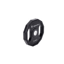 Rubber Coated Weight Plate inSPORTline Ruberton 2.5kg