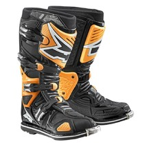 Motocross Boots AXO A2 - Orange