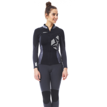 Women's Neoprene Jacket Jobe Porto - Black