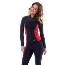 Women's Neoprene Jacket Jobe Porto 2018 - Black-Red