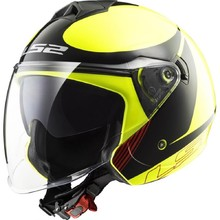 Motorcycle Helmet LS2 OF573 Twister Plane