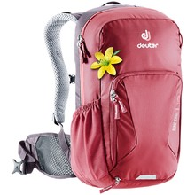 Cycling Backpack DEUTER Bike I 18 SL - Cranberry-Aubergine