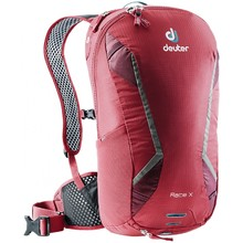Cycling Backpack DEUTER Race X - Cranberry-Maron