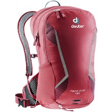 Cycling Backpack DEUTER Race EXP Air - Cranberry-Maron
