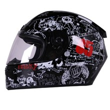V192 Motorcycle Helmet - Black