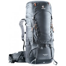 Expedition Backpack DEUTER Aircontact 55 + 10 - Graphite-Black