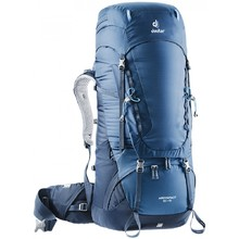 Expedition Backpack DEUTER Aircontact 55 + 10 - Midnight-Navy