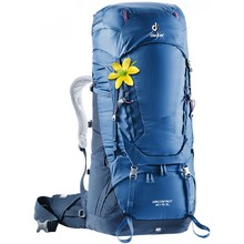 Expedition Backpack DEUTER Aircontact 60 + 10 SL - Steel-Midnight
