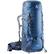 Expedition Backpack DEUTER Aircontact 65 + 10 - Midnight-Navy