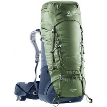 Expedition Backpack DEUTER Aircontact 65 + 10 - Khaki-Navy