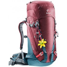 Mountaineering Backpack DEUTER Guide 30+ SL - Maroon-Arctic