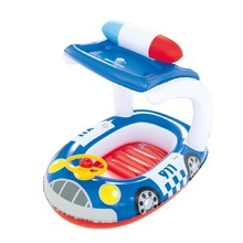 Inflatable Floating Boat Bestway Kiddie Car - Blue