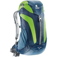 Tourist Backpack DEUTER AC Lite 18 - Blue-Green
