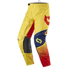 Motocross Pants SCOTT 350 Track MXVII - Yellow-Red