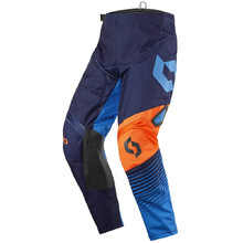 Motocross Pants SCOTT 350 Track MXVII - Blue-Orange