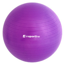Gymnastics Ball inSPORTline Top Ball 75 cm - Purple