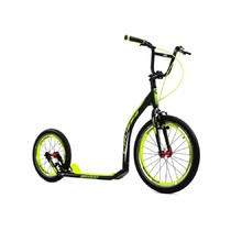 Kick Scooter Crussis Active 4.4 Black-Yellow