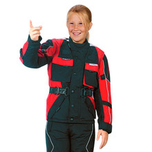 Moto Jacket ROLEFF Kids - Red-Black