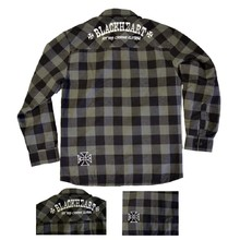 Long Sleeve Shirt BLACK HEART Duke - Grey