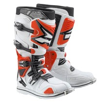 Motocross Boots AXO A2 - White/Red