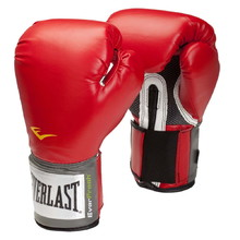 Boxing Gloves Everlast Pro Style 2100 Training Gloves - Red