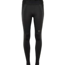 Women's Compression Elastic Pants Newline Wing Wiper Tights - Black