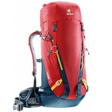 Climbing Backpack DEUTER Guide 35+ - Red