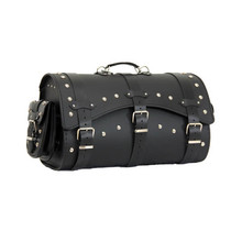 Leather Motorcycle Bag TechStar Slope Decorated