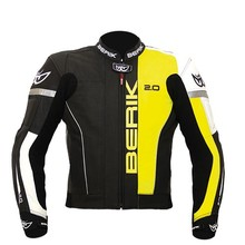 Motorcycle Riding Suit Berik LJ-10540-BK Fluo Yellow