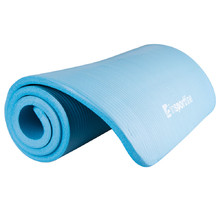 Exercise Mat inSPORTline Fity 140 x 61 cm - Blue