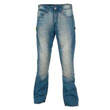 Men's moto jeans W-TEC Airweigt - Bright Blue