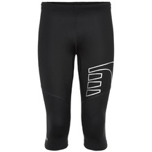 Unisex Knee Length Compression Pants Newline Core Knee Tights - Black