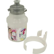 Cycling Bottle Minions Fluffy 350ml White with Holder
